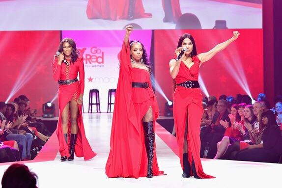 Heart truth red dress fashion show 2018