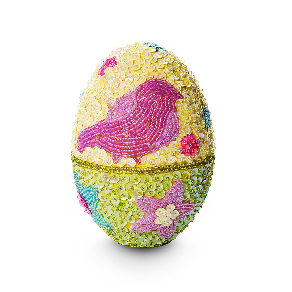 collectible beaded easter egg 3500 is a colorful keepsake made with real beads to include in an easter basket inside are 12 foil wrapped eggs 3 solid - Easter Egg Images 3